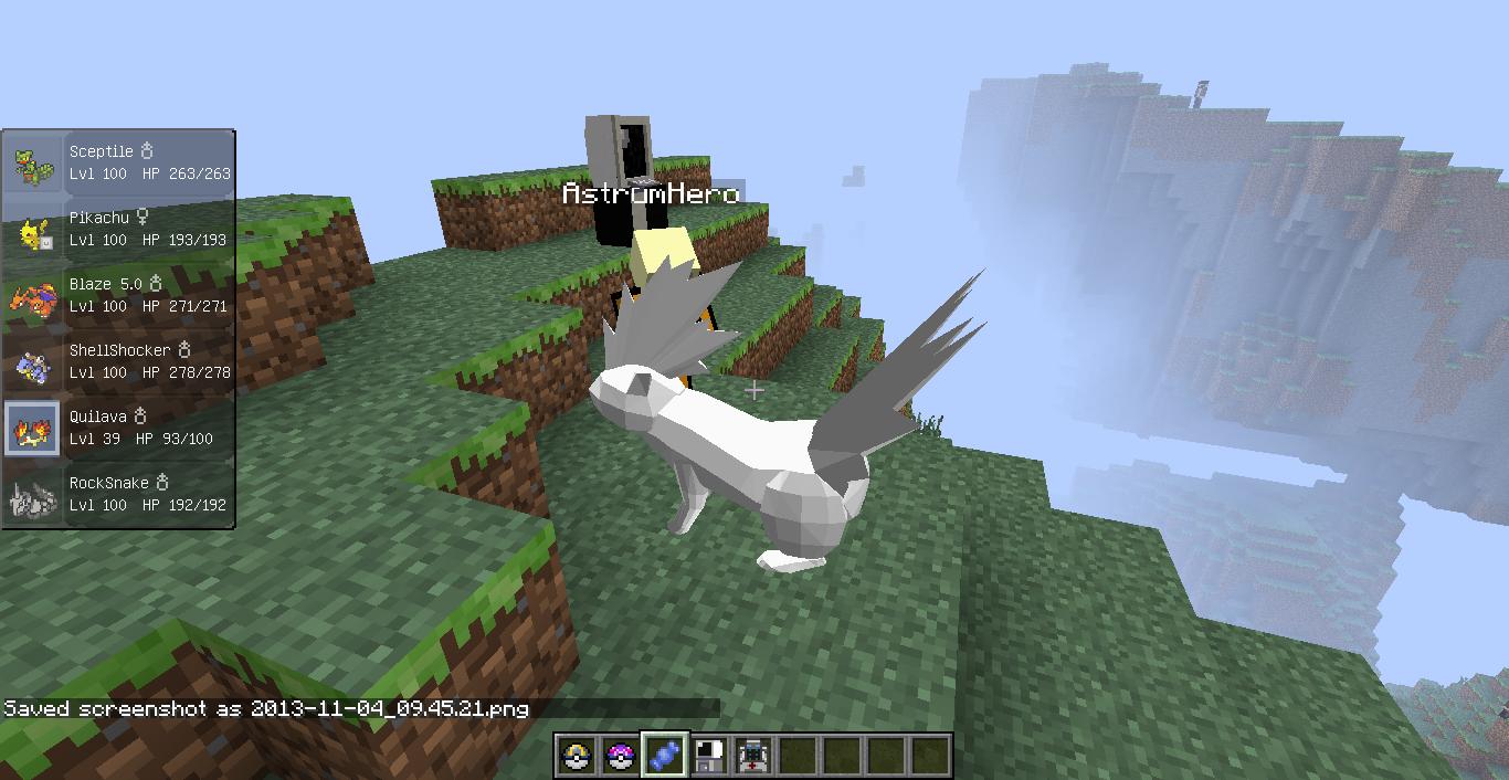 Мод на покемонов Pixelmon - скачать для Minecraft 1.8, 1.7 ...